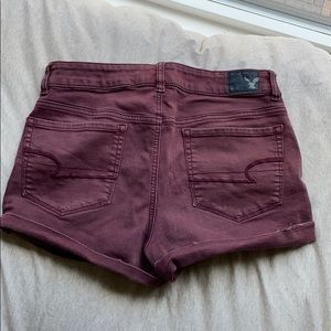 High rise super stretch shorts